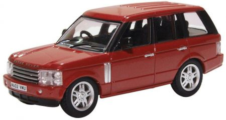 Oxford Diecast Range Rover 3rd Generation Alveston Red 76RR3002