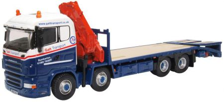 Oxford Diecast Scania Crane Lorry Galt Transport 76SCL004