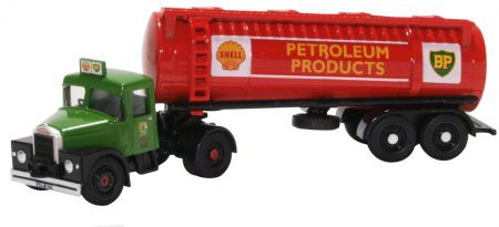 76SHT001 Scammell Highwayman Tanker Shell/BP