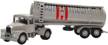 Oxford Diecast Scammell Highwayman Tanker Tunnel Cement 76SHT003