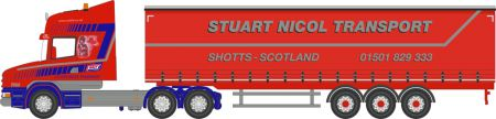 76TCAB010 Scania T Cab Short Curtainside Stuart Nicol Transport