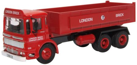 Oxford Diecast AEC Ergomatic Tipper London Brick Company 76TIP005