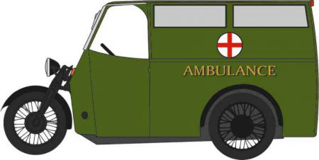76TV007 Tricycle Van Ambulance