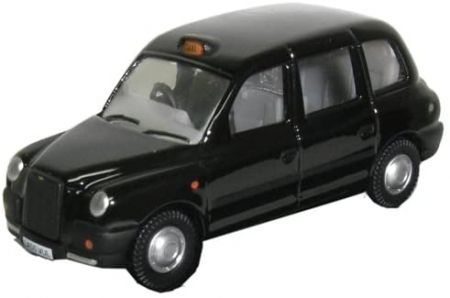 Oxford Diecast Black TX4 Taxi 76TX4001