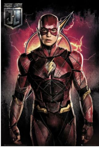 Justice League The Flash Solo Maxi Poster FP4573