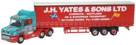 NTCAB008 Scania T Cab Curtainside. J H Yates and Sons