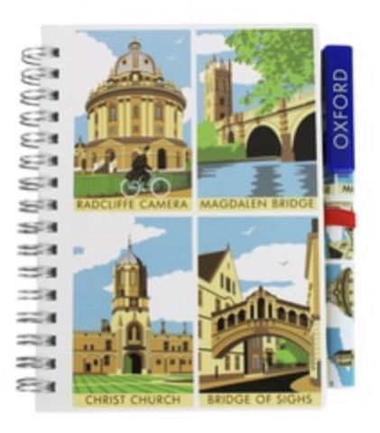 Contemporary Oxford Notepad and Icon Pen set 72826