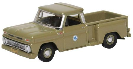 87CP65006 Chevrolet Stepside Pick Up 1965 Bell System by Oxford Diecast
