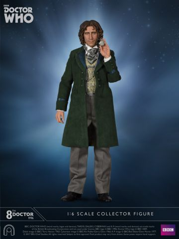Eighth Doctor Who Action Figure 1:6th Scale by Big Chief Studio BCDWED