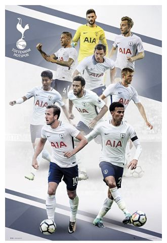 Tottenham Players 17/18, Maxi Poster by GB Eye SP1443