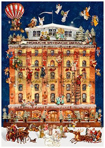 Christmas at the Coppenrath House Traditional Advent Calendar 92352