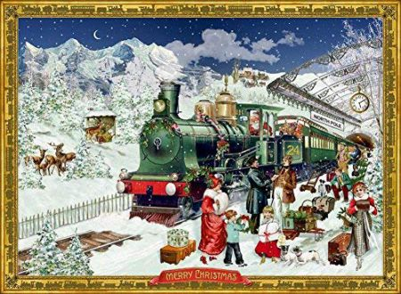 Coppenrath The Christmas Express Traditional Advent Calendar 92517