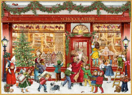 94391 The Chocolate Shop Traditional Advent Calendar by Coppenrath