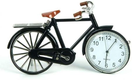 Bicycle Miniature Clock by Widdop & Co 9604