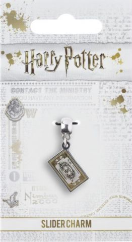 Hogwarts Express Ticket Slider Charm by The Carat Shop HP0107