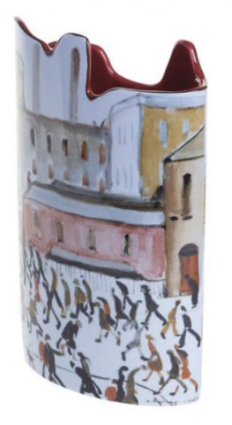 John Beswick Vase Lowry's Going to Work SDA35