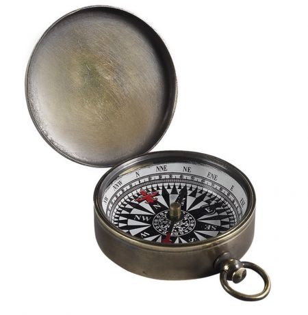 Authentic Models Small Compass Bronzed CO002B