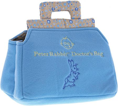 Beatrix Potter Peter Rabbit Doctor's Bag. by Gund. Great Ormond Street Charity. A28763