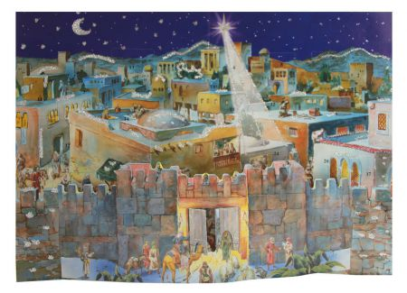 Richard Sellmer 3D Traditional Advent Calendar Old Oriental Town 567