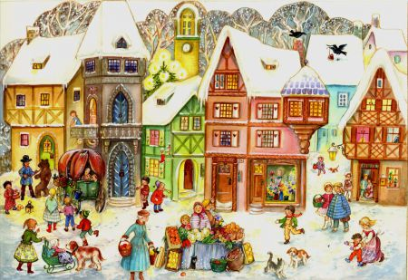 Richard Sellmer Advent Calendar At the Market Place 734