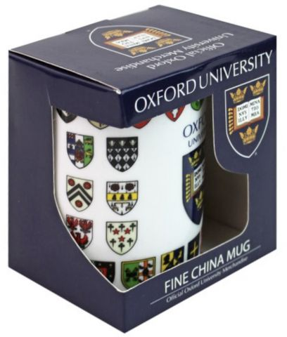 Oxford College Crest Mug boxed 73729