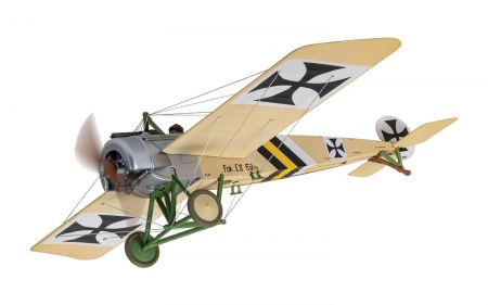 Corgi AA28701 Fokker E.II Eindecker - 69/15, flown by Kurt von Crailsheim, FFA 53, Monthois, France, October 1915