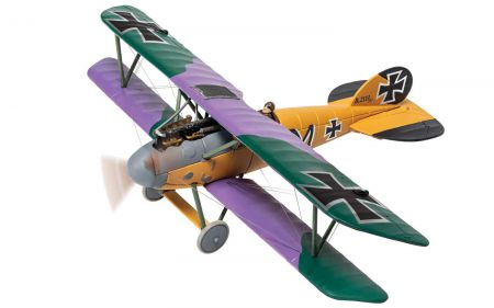 Corgi AA37810 Albatros D.V 2111/17 'M', Martin Mallmann, Jasta 19 'Les Tangos', Jan 1918, Shot down by 'The Grim Reapers'