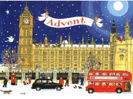 AC9 Palace of Westminster Advent Calendar by Alison Gardiner