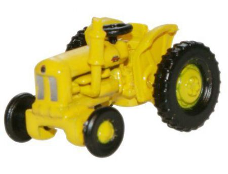 Oxford Diecast Fordson Tractor Yellow Highways Dept NTRAC003