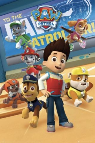Paw Patrol Characters Maxi Poster FP4486