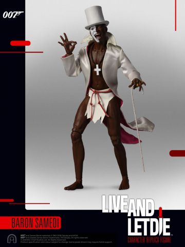 Baron Samedi, Live and Let Die James Bond Action Figure 1:6th Scale by Big Chief Studio BCJBDS