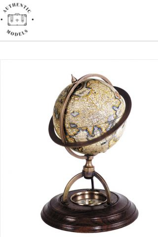 GL019 Terrestrial Globe with Compass