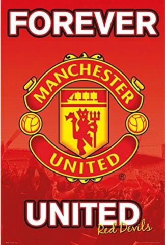 Manchester United Forever 15/16 Maxi Poster by GB Eye SP1331