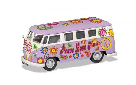 Corgi CC02730 Volkswagen Campervan Peace Love and Music