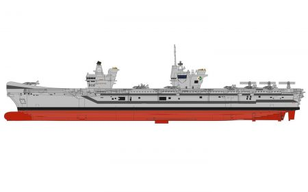 Corgi CC75000 Queen Elizabeth Class Aircraft Carrier 1 HMS Queen Elizabeth