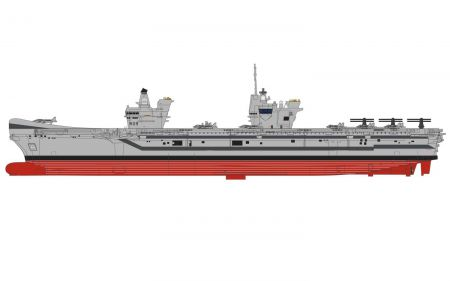 Corgi CC75001 Queen Elizabeth Class Aircraft Carrier 1 HMS Prince of Wales
