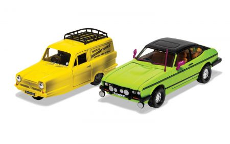 Corgi CC99189 Del Boy's Reliant Regal and Ford Capri MkII