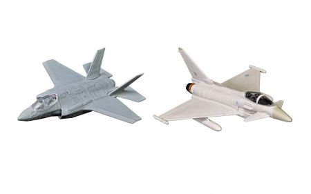 Corgi CS90685 Defence of the Realm Collection (F-35® and Eurofighter Typhoon)