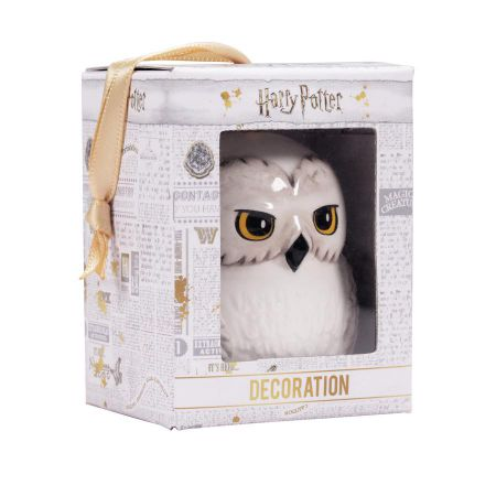 Harry Potter Hedwig Hanging Decoration DECHP08 by Half Moon Bay