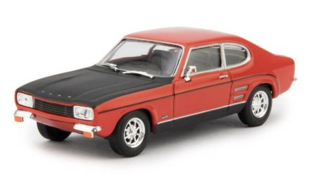 Cararama Ford Capri RS Sunset Red 414070
