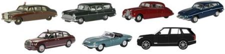 Oxford Diecast  Royals Set 7 piece 76SET74