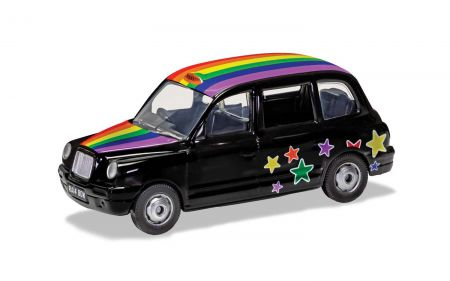 Corgi GS85929 London Taxi Rainbow