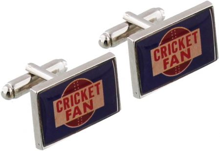 Ministry Of Chaps Cricket Fan Cufflinks by Widdop & Co HM713