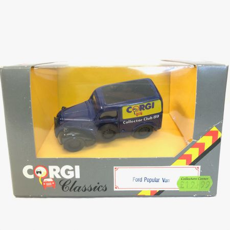 Corgi Classics Ford Popular Van Collector Club 1989 D980