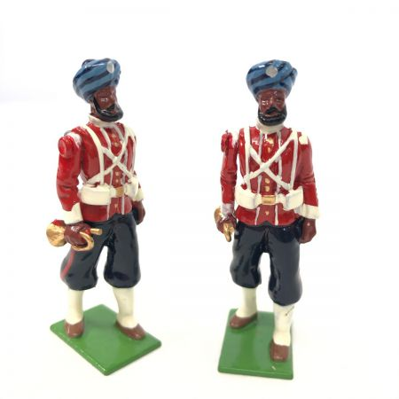 WBritain 2 Buglers 45th Rattray's Sikhs SPECIAL COLLECTORS EDITION | 8837