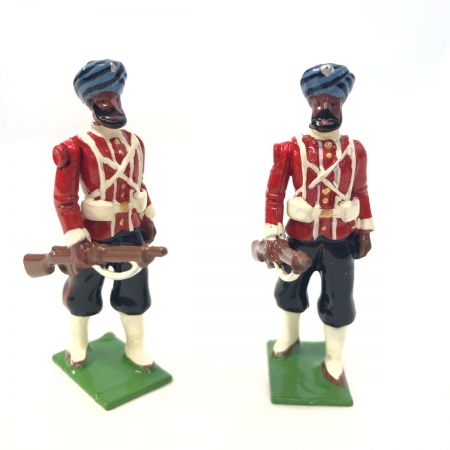 WBritain 2 Troopers 45th Rattray's Sikhs SPECIAL COLLECTORS EDITION | 8838