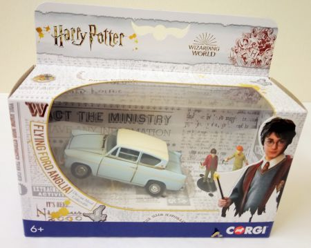 CC99725 Harry Potter Flying Ford Anglia by Corgi