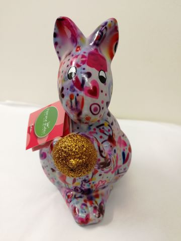 33081 Pomme Pidou Money Bank Sam Squirrel Lilac