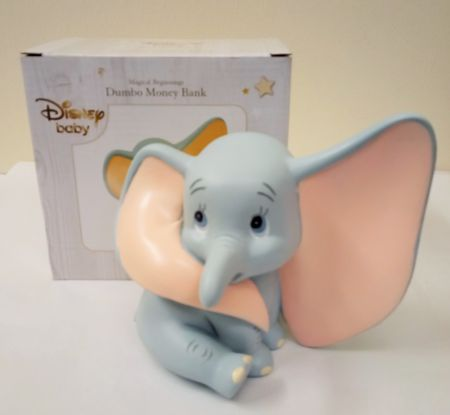 Dumbo Disney Magical Beginnings Resin Moneybox by Widdop & Co DI465