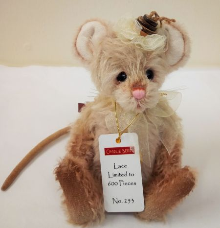 MM195945C Lace Minimo Mouse Mohair Charlie Bears